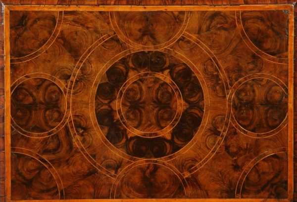 William and Mary Oyster Veneered Chest of Drawers