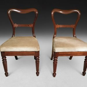 Pair of Rosewood Chairs by Gillows of Lancaster