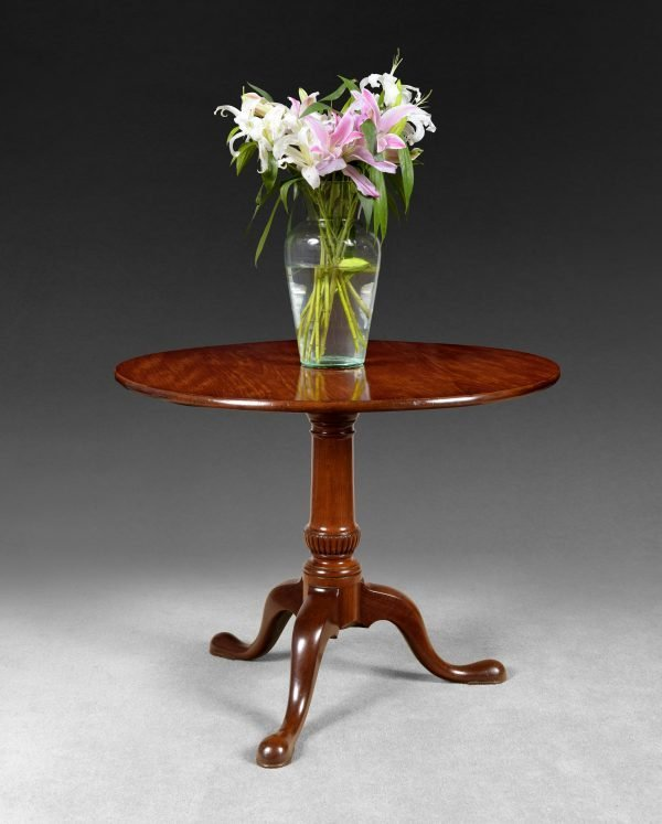 Mid 18th Century Mahogany Tripod Table